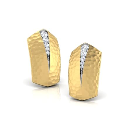 Lelia Hammered Stud Earrings