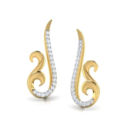 Eternal Swirl Ear Cuffs