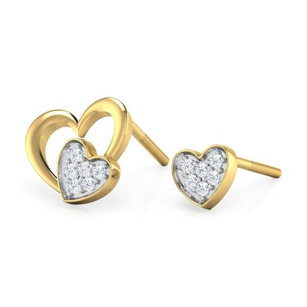Heart & Heart Mismatched Earrings