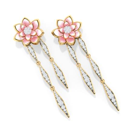 Lotus Dreams Drop Earrings