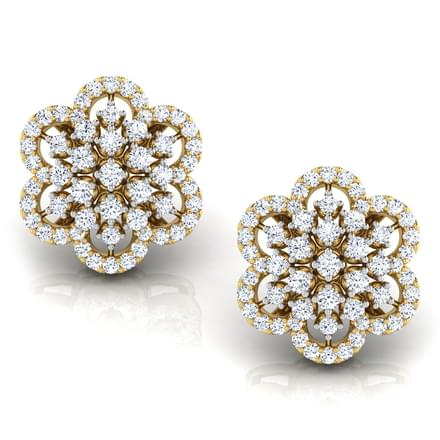 Gracelyn Flower Stud Earrings