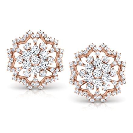 Demure Star Stud Earrings