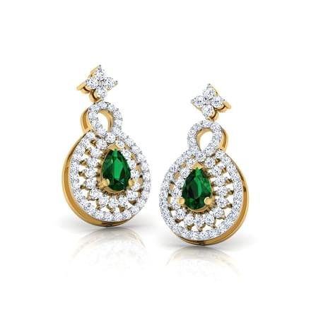 Striking Drop Earrings