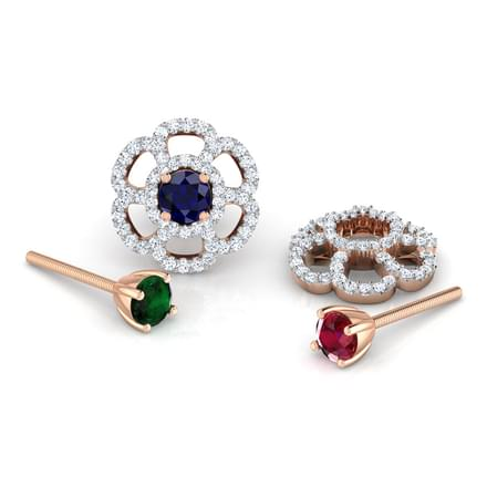 Blossom Multi-Style Stud Earrings