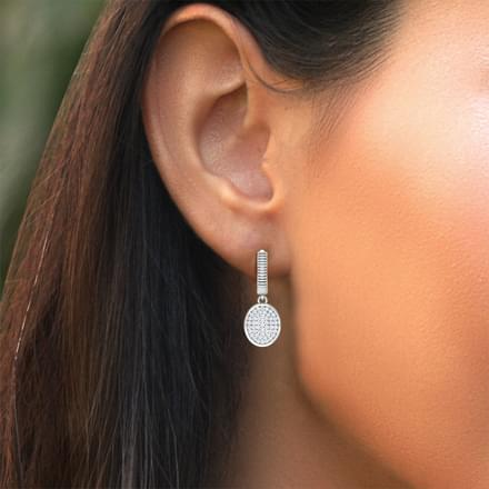 Ovate Cluster Earrings