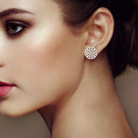 Scatter Strew Stud Earrings