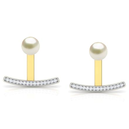Duo Pearl Ear Jacket