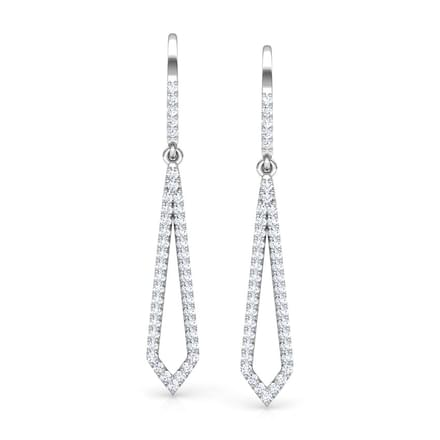 Edgy Sleek Drop Earrings