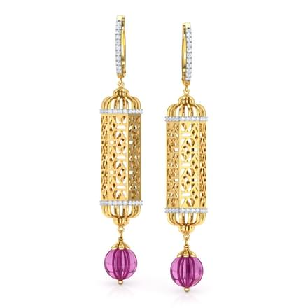 Hawa Jharokha Drop Earrings