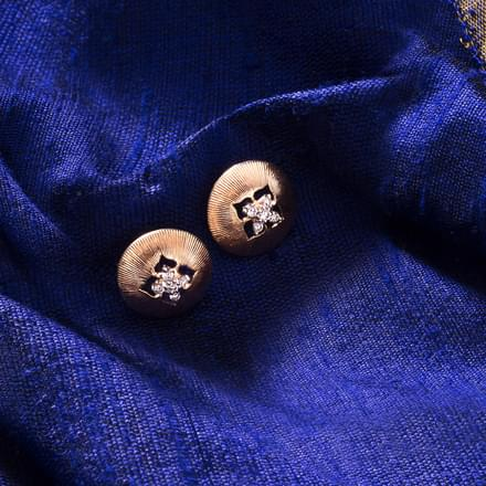 Frasera Brocade Stud Earrings