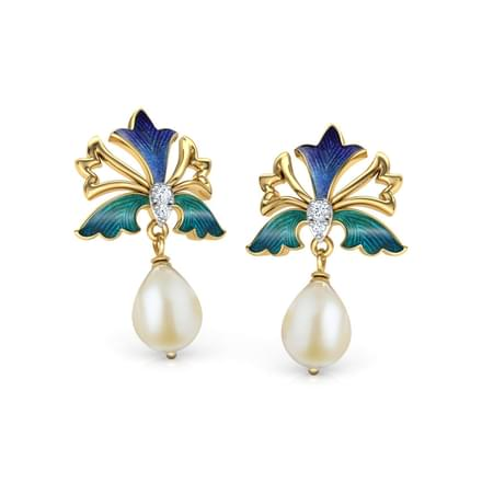 Zahra Iris Drop Earrings