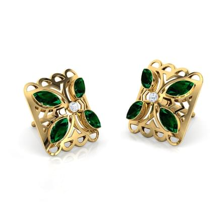 Kusum Intricate Stud Earrings