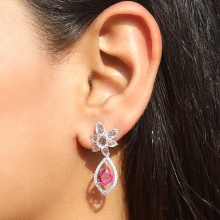 Inara Floret Drop Earrings
