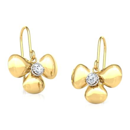 Aarya Floret Drop Earrings