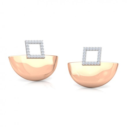 Ishita Arch Stud Earrings