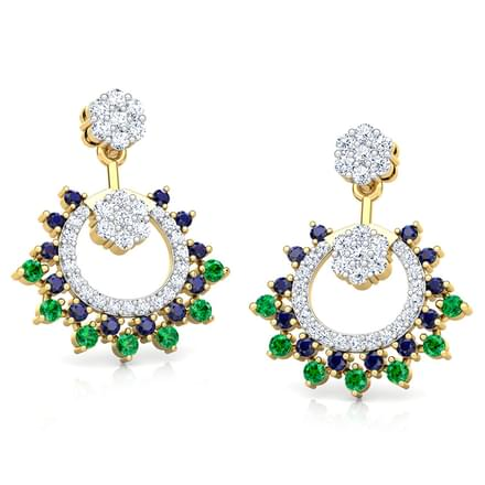 Advita Vibrant Drop Earrings