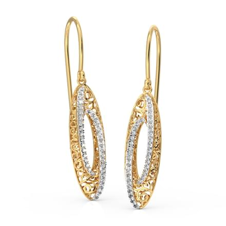 Siya Sleek Drop Earrings