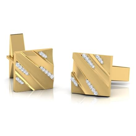 Curt Lined Cufflinks
