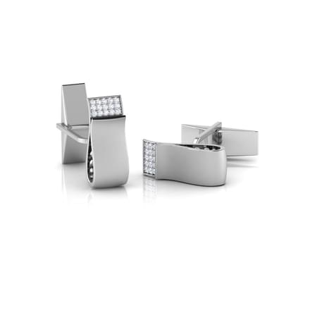 Toby Gold and Silver Cufflinks
