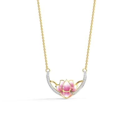 Lotus Swing Necklace