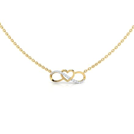 Never-Ending Love Diamond Necklace