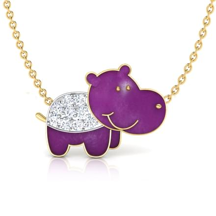 Hurricane Hippo Necklace
