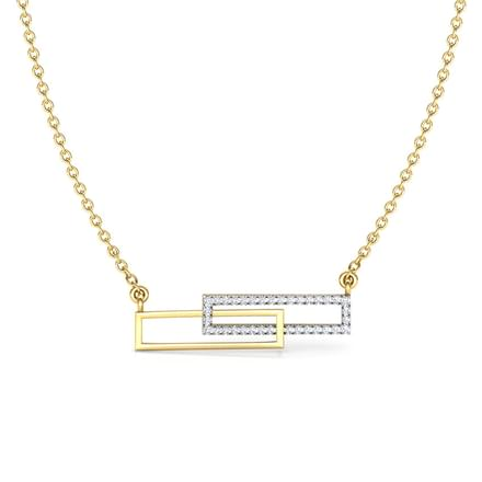 Bars Geometric Necklace
