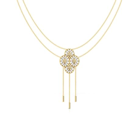 Bhavan Circular Diamond Necklace