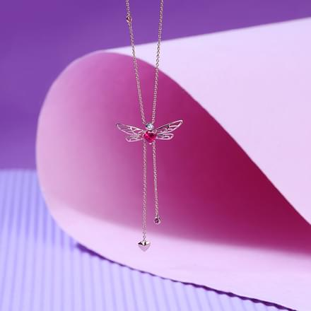 Flutter Dragonfly Necklace