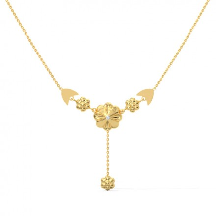 Bouquet Diamond Necklace