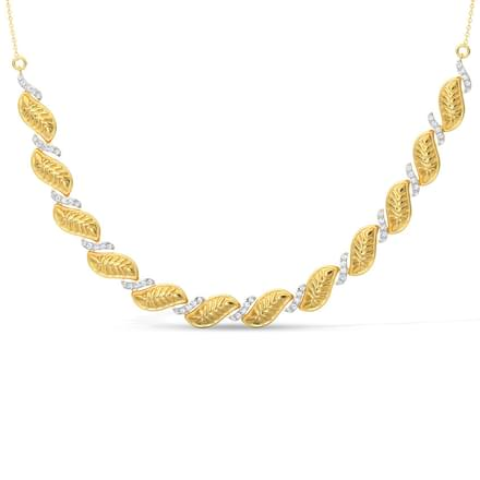Mahika Leaf Necklace