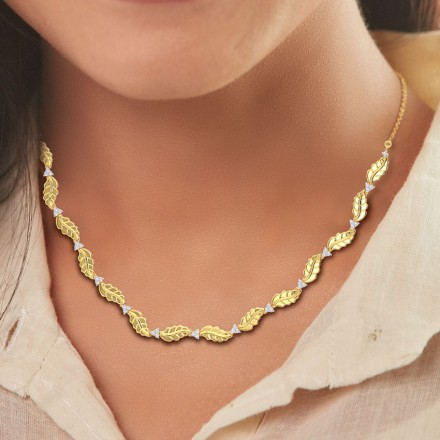 Netra Leaf Necklace