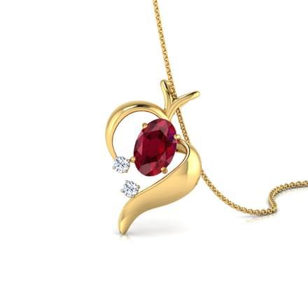 Open heart pendant jewellery india online caratlane open heart pendant aloadofball Gallery