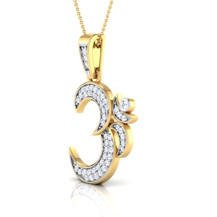 Om pendant jewellery india online caratlane om pendant mozeypictures Image collections