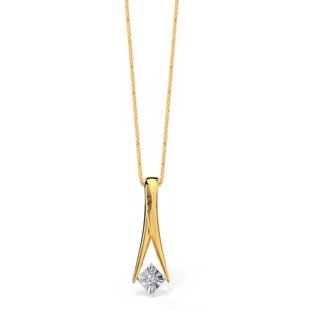 Falling star pendant jewellery india online caratlane falling star pendant aloadofball Choice Image