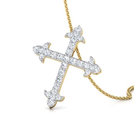 Cruz Diamond Cross Pendant
