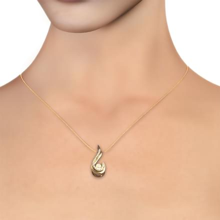 Martha Heartbeat Diamond Pendant