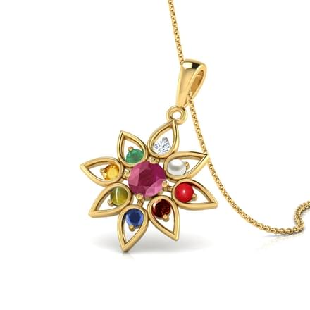 product diamond with multi gemstone dawsons flowers stewart pendant accent