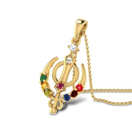 13 gemstone pendants for men designs buy gemstone pendants for khanda navratna pendant khanda navratna pendant mozeypictures Gallery