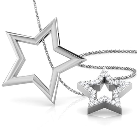Star of Love 3 in 1 Pendant