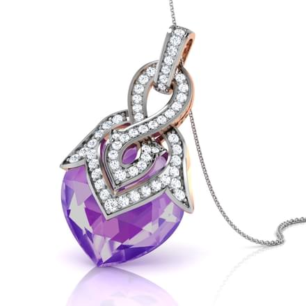 Heartthrob Amethyst Pendant