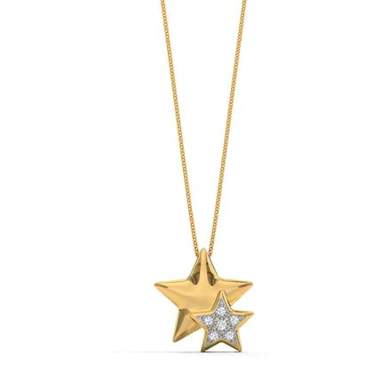 Star on a Star Pendant