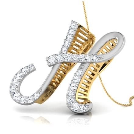 Avis Alphabet H Pendant Jewellery India Online Caratlane Com