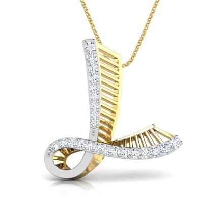 Lexus alphabet l pendant jewellery india online caratlane lexus alphabet l pendant aloadofball Gallery