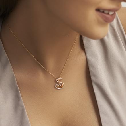 Blair alphabet s pendant jewellery india online caratlane blair alphabet s pendant aloadofball Choice Image
