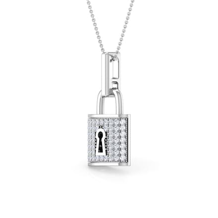 co pendant img tiffany modaselle diamond platinum heart lock