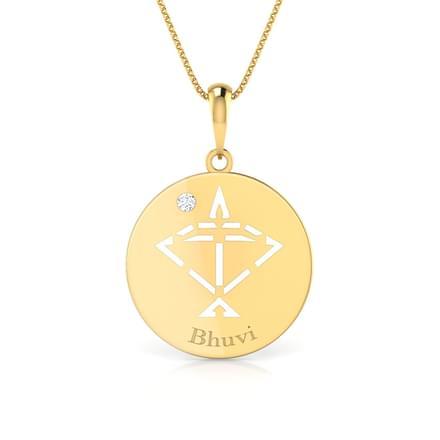 Sagittarius Personalised Zodiac Pendant