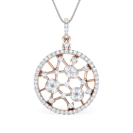 Round Lattice Pendant
