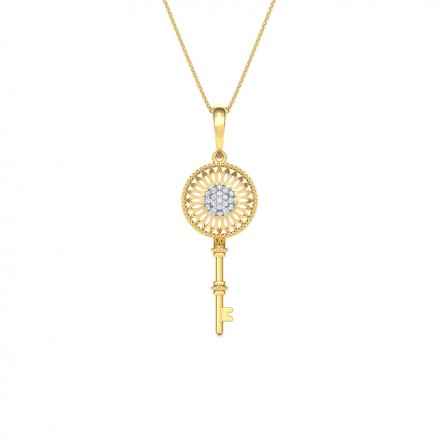 Lattice Key Pendant
