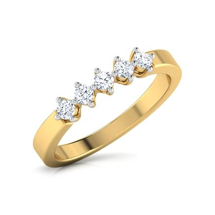 Five Stone Family Diamond Band